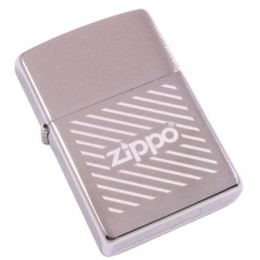 Купить - Зажигалка Zippo 200.067 Zippo Stripez Brushed Chrome
