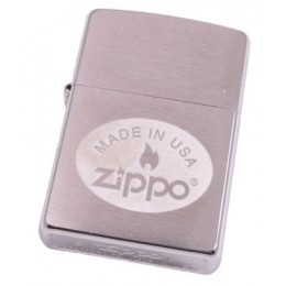 Купить - Зажигалка Zippo 200.207 Made In Usa Brushed Chrome